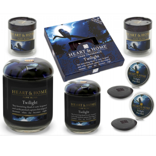 Twilight Heart & Home Fragrances Gift Set 7 Piece